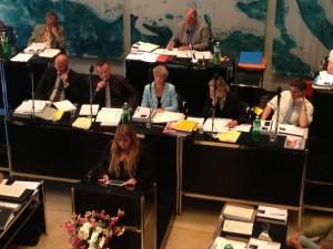 Der Stadtrat will seine Interessenbindungen nicht offenlegen - noch nicht. Bild:Archiv