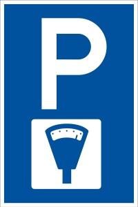 Parkplatzschilder_Parkplatz_mit_Parkuhr_4354