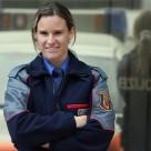 Nationalrätin und Polizistin Andrea Geissbühler unterstützt Stadtratskandidatin Sandra Schneider